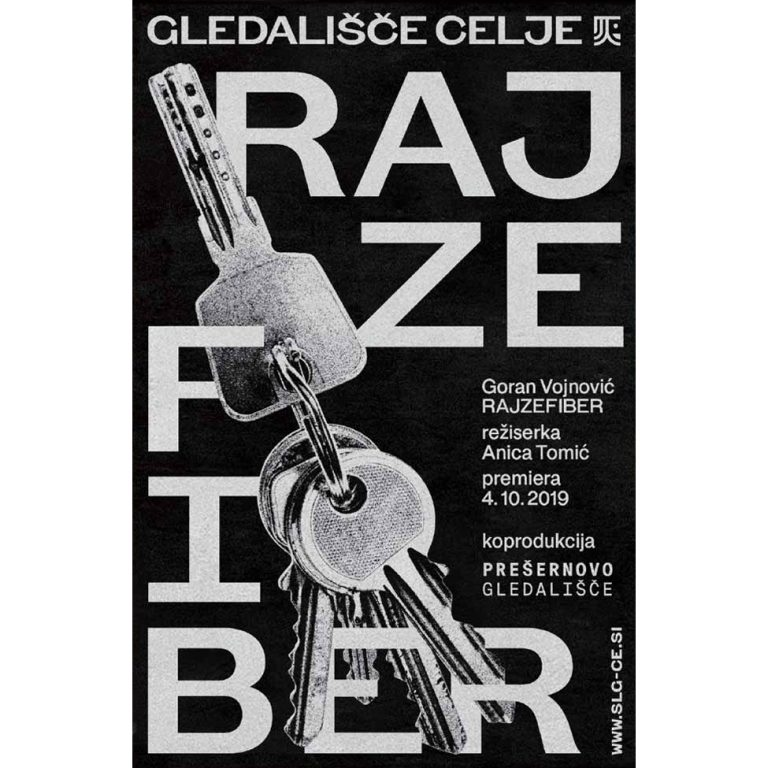Celje City Theatre 2019-2020 Season Posters / AA Design